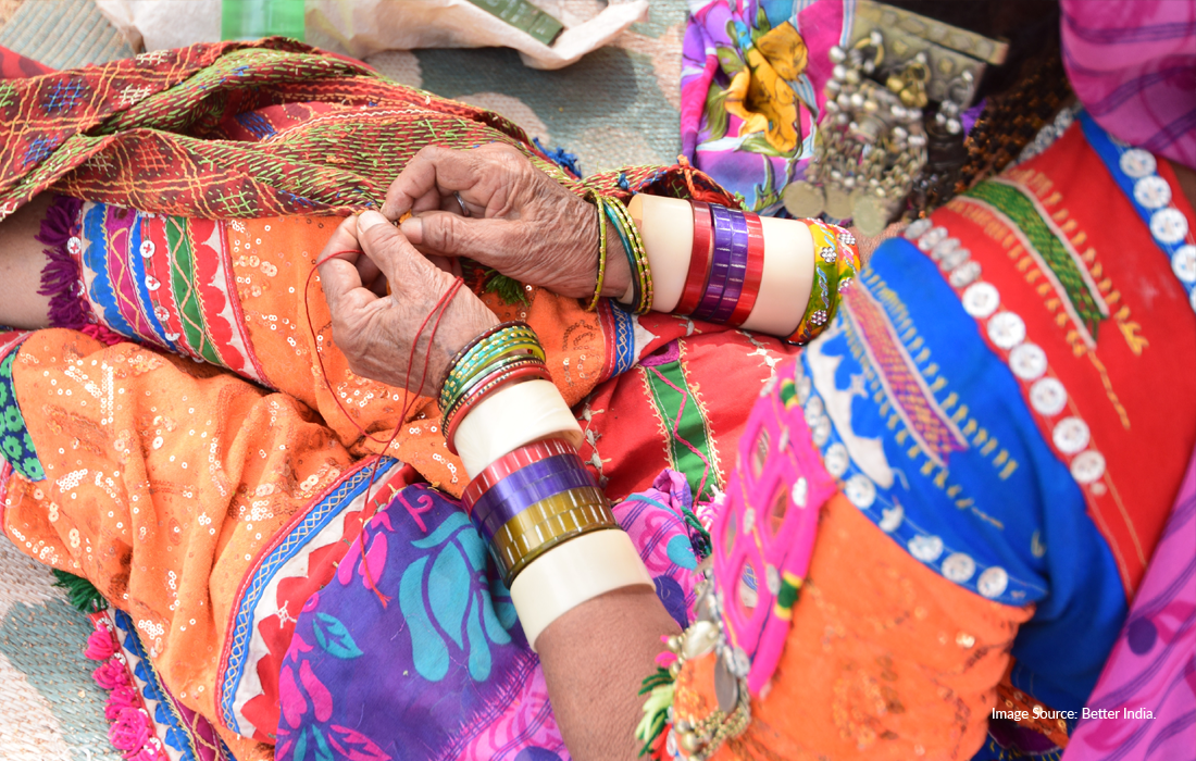 Providing Skilling and Employment for 50,000 Artisans, With a Focus on Women